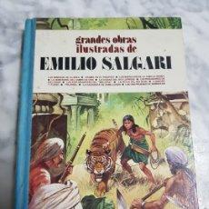 Tebeos: EMILIO SALGARI , GRANDES OBRAS MAESTRAS ,BRUGUERA , TOMO 3. Lote 266961889