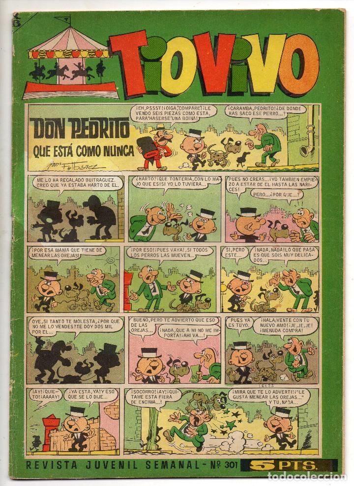 Tebeos: TIO VIVO nº 190, 191, 242, 301, 315, 316, 320, 325, 327 y 335 (Bruguera 1964/67) 10 tebeos. - Foto 8 - 243372840