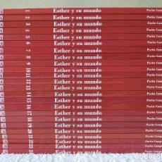 Tebeos: ESTHER Y SU MUNDO DE PURITA CAMPOS - LOTE DE 24 VOLUMENES (DEL 1 AL 24) - EDITORIAL SALVAT 2010. Lote 267076454