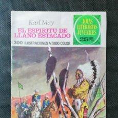 Tebeos: JOYAS LITERARIAS JUVENILES Nº 172. EL ESPIRITU DE LLANO ESTACADO. 25 PTAS.. Lote 246154055