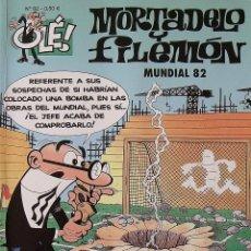 Tebeos: MORTADELO Y FILEMÓN. MUNDIAL 82. EDICIONES B. 5ª EDICIÓN. 2007. BUEN ESTADO SIGNOS DE LA EDAD.. Lote 267092054