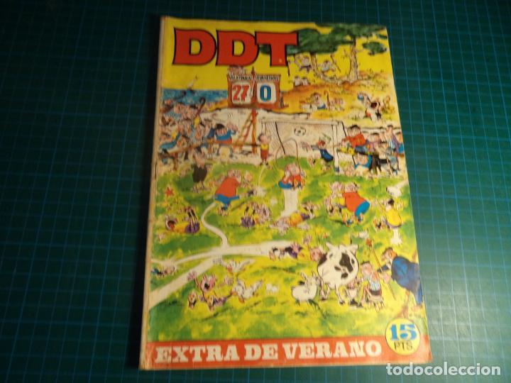 DDT EXTRA DE VERANO 1969. BRUGUERA. CON SEÑALES DE USO. (M-2) (Tebeos y Comics - Bruguera - DDT)