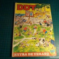 BDs: DDT EXTRA DE VERANO 1969. BRUGUERA. CON SEÑALES DE USO. (M-2). Lote 267141159