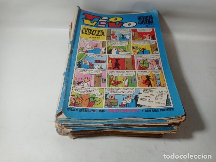 LOTE COLECCIÓN ORIGINAL 43 UNIDADES TÍO VIVO AÑOS 60/70 (Tebeos y Comics - Bruguera - Tio Vivo)