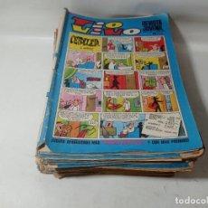 Tebeos: LOTE COLECCIÓN ORIGINAL 43 UNIDADES TÍO VIVO AÑOS 60/70. Lote 267181564