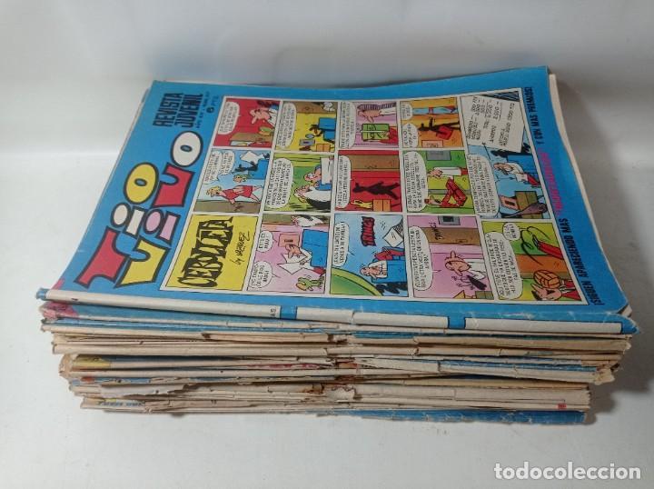 Tebeos: Lote colección original 43 unidades Tío vivo años 60/70 - Foto 2 - 267181564