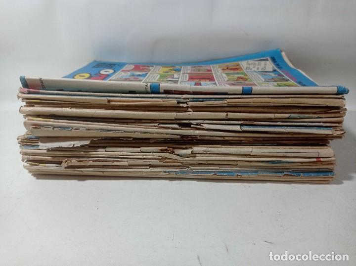 Tebeos: Lote colección original 43 unidades Tío vivo años 60/70 - Foto 3 - 267181564