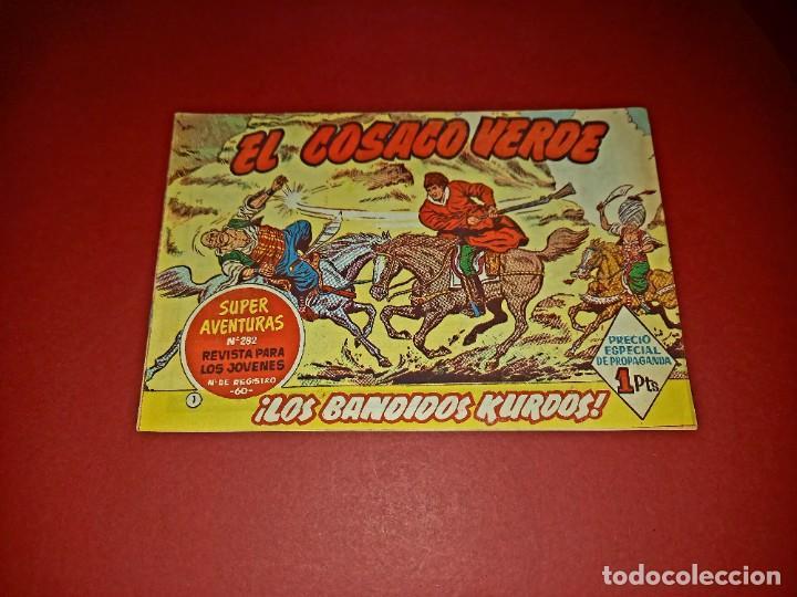 EL COSACO VERDE Nº 1 -ORIGINAL (Tebeos y Comics - Bruguera - Cosaco Verde)