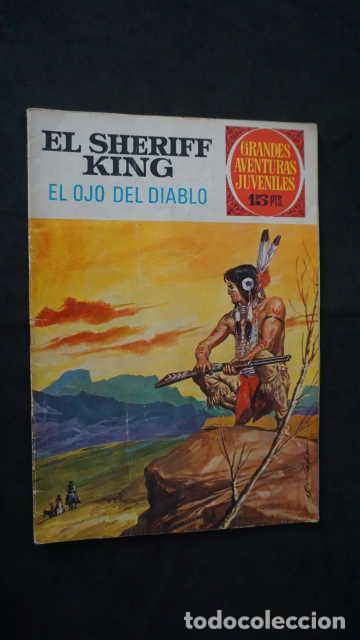 GRANDES AVENTURAS JUVENILES NUMERO 55 EL SHERIFF KING, EDITORIAL BRUGUERA, EL OJO DEL DIABLO (Tebeos y Comics - Bruguera - Sheriff King)