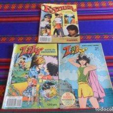 BDs: LILY Nº 1124 Y LILY EXTRA PRIMAVERA 1983 PÓSTER MIGUEL GALLARDO. BRUGUERA. REGALO ESTHER 33.. Lote 267371914