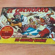 Tebeos: EL CACHORRO Nº 187 EL CAPITAN BATAN (ORIGINAL BRUGUERA). (COIB21). Lote 267553649
