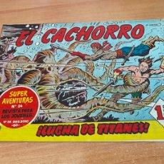 Tebeos: EL CACHORRO Nº 185 LUCHA DE TITANES (ORIGINAL BRUGUERA) (COIB21). Lote 267553949