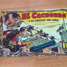 Tebeos: EL CACHORRO Nº 89 Y EL CONVOY DE ORO (ORIGINAL BRUGUERA) (COIB21). Lote 267556924