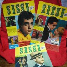 Tebeos: SISSI REVISTA FEMENINA REPORTAJE COMPLETO, N°126,127,128- SAL MINEO, 1960.. Lote 267568509