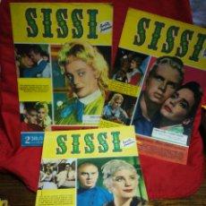 Tebeos: SISSI REVISTA FEMENINA REPORTAJE COMPLETO, N°133,134,135- MARIA SCHELL, 1960.. Lote 267570149