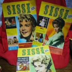 Tebeos: SISSI REVISTA FEMENINA REPORTAJE COMPLETO, N°141,142,143- SANDRA DEE, 1960.. Lote 267571714