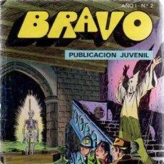 Tebeos: BRAVO- Nº 2 -INSPECTOR DAN-Nº 1 -MORIR CUESTA TRES PENIQUES-1976-SILVER KANE-E-GINER-ESCASO-LEA-4983. Lote 267599554