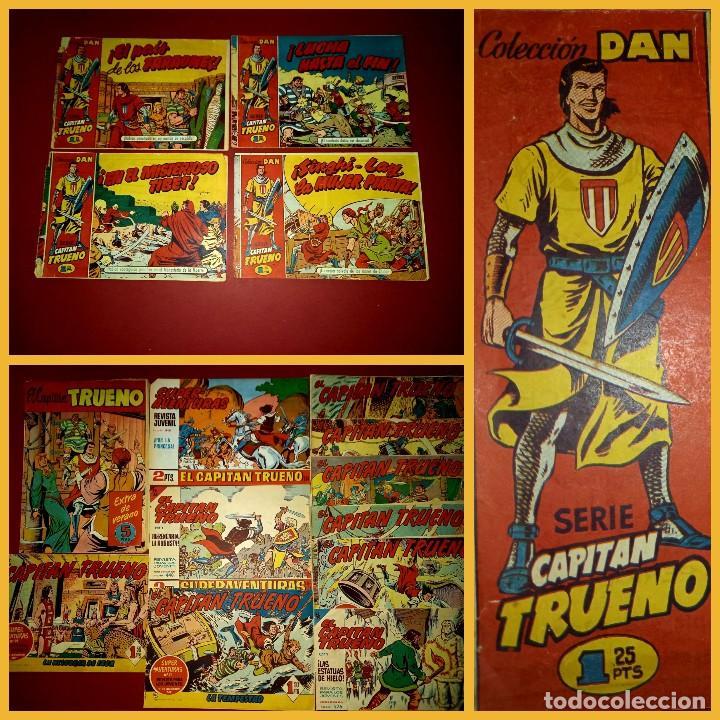 21 EL CAPITAN TRUENO ORIGINALES -MAS ALMANAQUE EXTRA VERANO 1958-VER NUMERACION (Tebeos y Comics - Bruguera - Capitán Trueno)