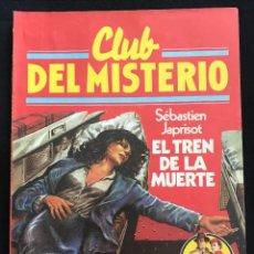 Tebeos: REVISTA - CLUB DEL MISTERIO #31 - SEBASTIEN LJAPRISOT - EL TREN DE LA MUERTE - BRUGUERA - 1981. Lote 267717609