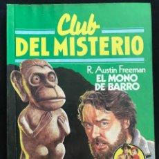 Tebeos: REVISTA - CLUB DEL MISTERIO #50 - R. AUSTIN FREEMAN - EL MONO DE BARRO - BRUGUERA - 1982. Lote 267719234