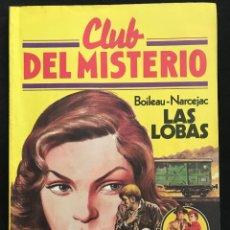 Tebeos: REVISTA - CLUB DEL MISTERIO #52 - BOILEAU-NARCEJAC - LAS LOBAS - BRUGUERA - 1982. Lote 267719454