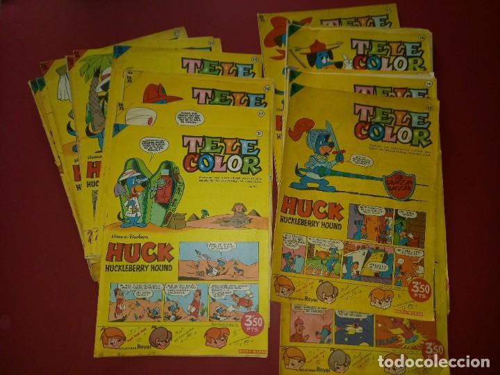 LOTE DE 33 TELE COLOR -VER NUMERACION (Tebeos y Comics - Bruguera - Tele Color)