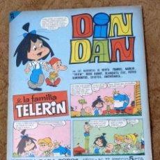 Tebeos: DIN DAN Nº 77 (BRUGUERA 1966). Lote 268024739