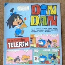 Tebeos: DIN DAN Nº 75 (BRUGUERA 1966). Lote 268024874
