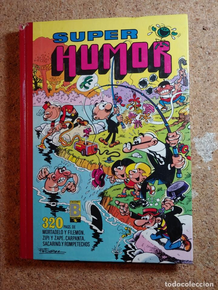 COMIC TOMO DE SUPER HUMOR DEL AÑO 1989 Nº 34 (Tebeos y Comics - Bruguera - Super Humor)