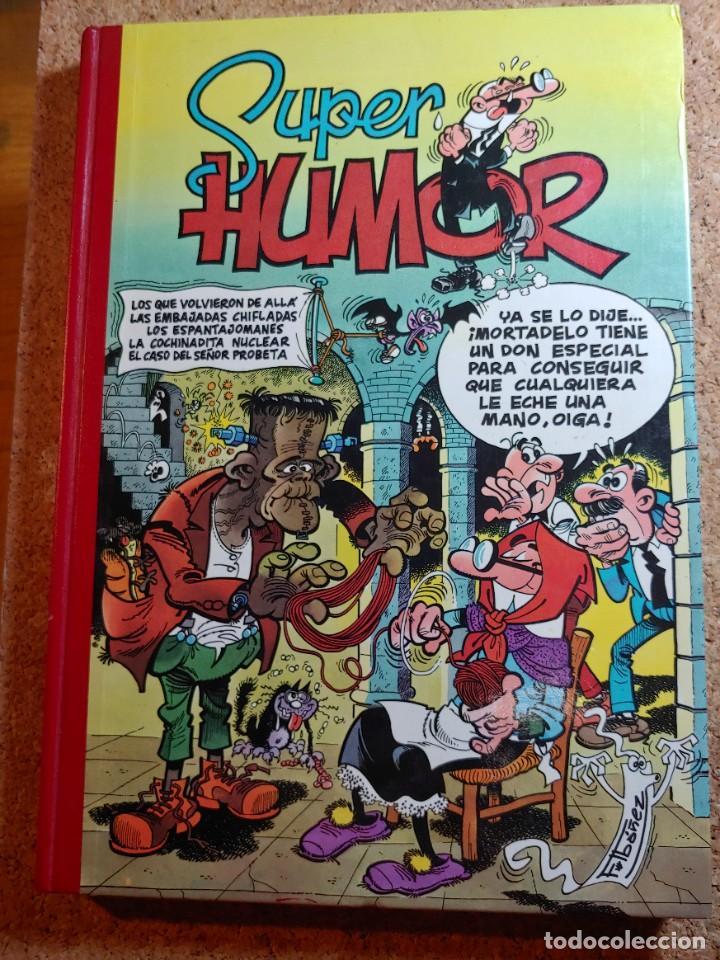 COMIC TOMO DE SUPER HUMOR MORTADELO DEL AÑO 1993 Nº 8 (Tebeos y Comics - Bruguera - Super Humor)