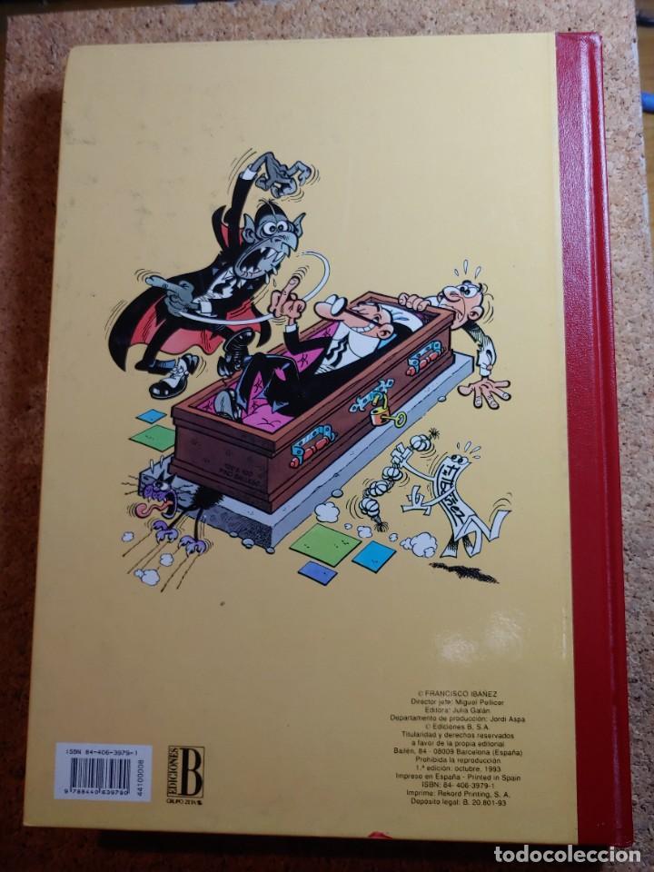 Tebeos: COMIC TOMO DE SUPER HUMOR MORTADELO DEL AÑO 1993 Nº 8 - Foto 2 - 268298514