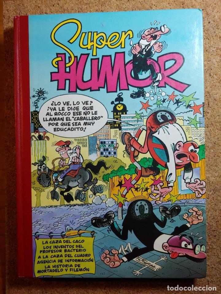COMIC TOMO DE SUPER HUMOR MORTADELO DEL AÑO 2000 Nº 22 (Tebeos y Comics - Bruguera - Super Humor)