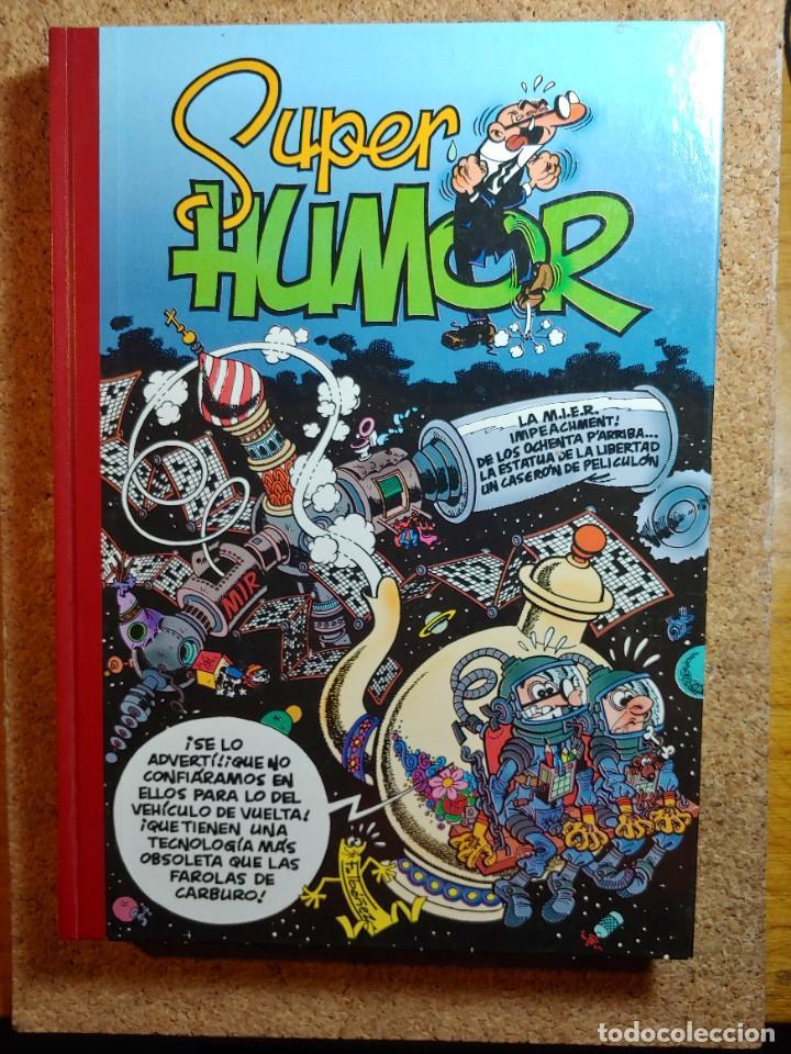 COMIC TOMO DE SUPER HUMOR MORTADELO DEL AÑO 2001 Nº 32 (Tebeos y Comics - Bruguera - Super Humor)