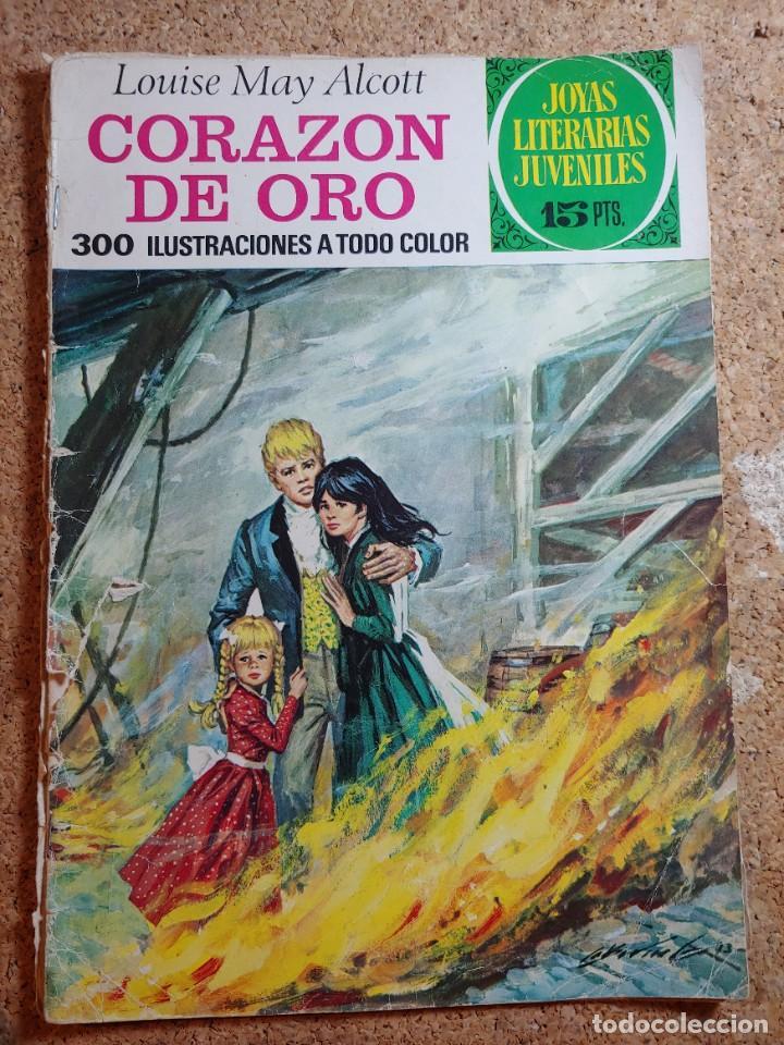 COMIC DE JOYAS LITERARIAS JUVENILES CORAZON DE ORO DEL AÑO 1974 Nº 112 (Tebeos y Comics - Bruguera - Joyas Literarias)