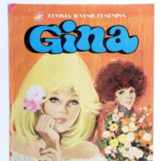 Tebeos: GINA, REVISTA JUVENIL FEMENINA 9. POSTER DE LAS BACCARA (VVAA) BRUGUERA, 1978. OFRT. Lote 268580664