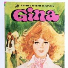Tebeos: GINA, REVISTA JUVENIL FEMENINA 10. POSTER DE DAVID SOUL (VVAA) BRUGUERA, 1978. OFRT. Lote 268580674