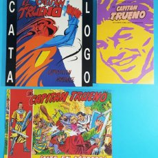 Tebeos: LOTE EL CAPITAN TRUENO CONSEJERIA DE CULTURA CORDOBA 1989, 2 LIBROS + COMIC, VER DESCRIPCION. Lote 268608624