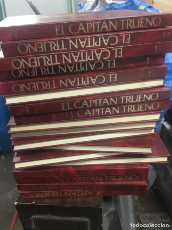CAPITAN TRUENO HISTORICA COLECCION COMPLETA 18 TOMOS 1987 REGALADOS (Tebeos y Comics - Bruguera - Capitán Trueno)