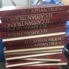 Tebeos: CAPITAN TRUENO HISTORICA COLECCION COMPLETA 18 TOMOS 1987 REGALADOS. Lote 268717574