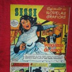 Tebeos: REVISTA SISSI (SUPLEMENTO NOVELAS GRÁFICAS) N°1.. Lote 268739524