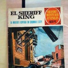 Tebeos: EL SHERIFF KING, LA MUERTE ESPERA EN CRUMBLE CITY. GRANDES AVENTURAS JUVENILES, BRUGUERA, 1972.. Lote 268767154
