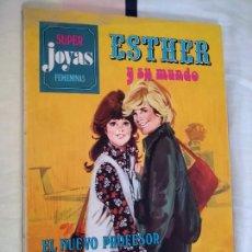 Tebeos: ESTHER Y SU MUNDO. SUPER JOYAS FEMENINAS - SERIE AZUL, BRUGUERA, 1981.. Lote 268768164