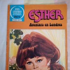 Tebeos: ESTHER, AVENTURA EN LONDRES. JOYAS LITERARIAS JUVENILES - SERIE AZUL 41, BRUGUERA, 1982.. Lote 268768709