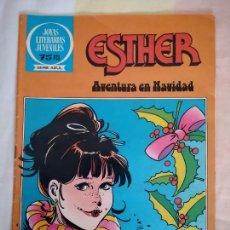 Tebeos: ESTHER, AVENTURA EN NAVIDAD. JOYAS LITERARIAS JUVENILES - SERIE AZUL 73, BRUGUERA, 1982.. Lote 268768889