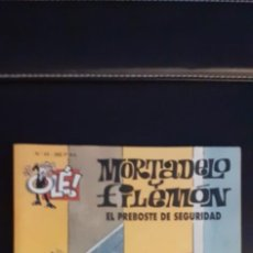 Tebeos: MORTADELO Y FILEMON COLECCION OLE EL PREBOSTE DE SEGURIDAD. Lote 268926179