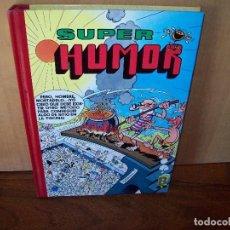 Tebeos: SUPER HUMOR MORTADELO Y FILEMON CON EL BOTONES SACARINO - MUCHAS PAGINAS E HISTORIAS. Lote 268935649