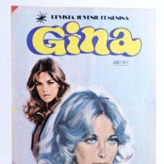 Tebeos: GINA, REVISTA JUVENIL FEMENINA 17. POSTER STAR WARS: HAMILL Y FISHER (VVAA) BRUGUERA, 1978. OFRT. Lote 268973009