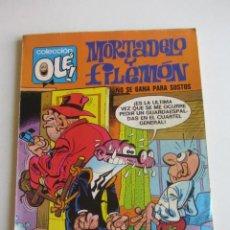 Tebeos: COLECCION OLÉ Nº 107. MORTADELO Y FILEMON ¡NO SE GANA PARA SUSTOS! BRUGUERA 4ª EDICION 1981 ARX47. Lote 268985784