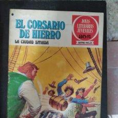 """BDs: EL CORSARIO DE HIERRO. NÚM 44 """"LA CIUDAD SITIADA"""". Lote 269027614"""