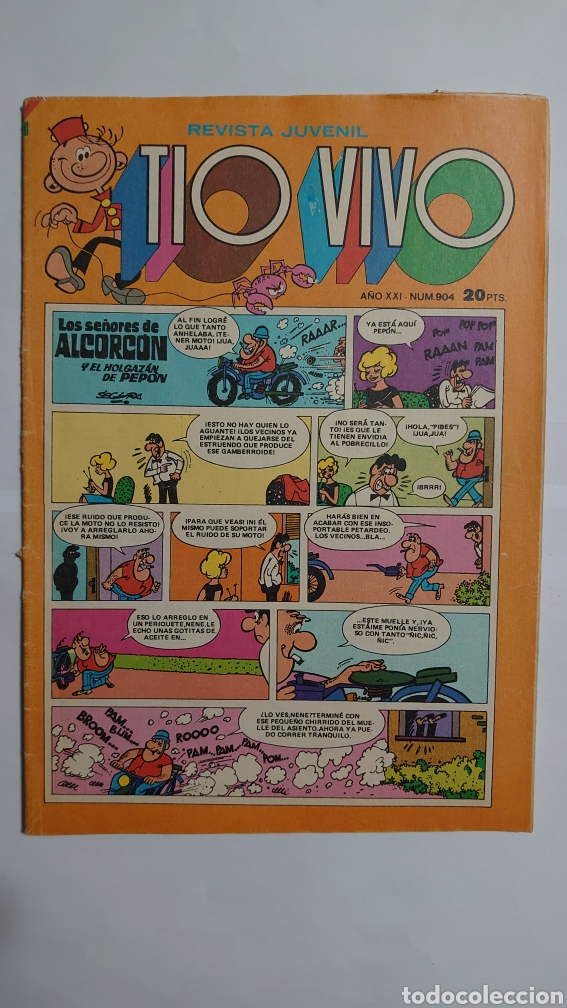 TÍO VIVO NUM. 904 (Tebeos y Comics - Bruguera - Tio Vivo)